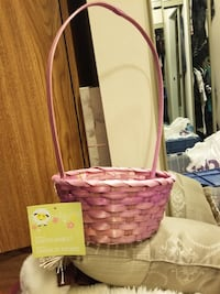Easter bunny straw baskets- some new