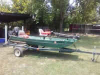 Jonboat with trailer and motor  Timmonsville, 29161