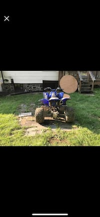 Blue and white yamaha atv Baltimore, 21225