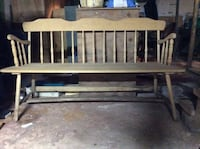 Solid Oak Bench Chester, 06412