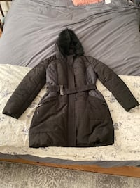 NY& Company winter coat with belt. Size M