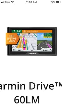 "Garmin Drive 60 LM 6"" screen Rocky View No. 44, T0M 0J6"