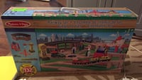 Melissa and Doug 132 piece train set $149.99+ retail new in box   Box has a little wear / damage but product inside is mint. Brand new. Save huge   $100 Hamilton, L8M 2B5