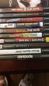 Ten PlayStation 2 games $10 for all Dawsonville, 30534