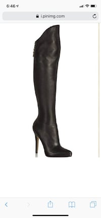 HOT OVER THE KNEE STILETTO BOOTS