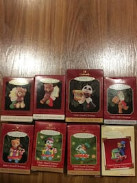 Hallmark Ornaments - Baby's and Childs First Christmas Newark, 19711