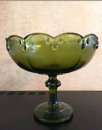 Vintage glass Bowl  and fruits Ontario, 91762