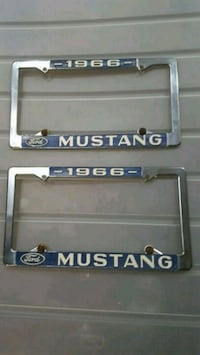 1966 Mustang tag frame Harford County