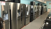 Stainless steel Refrigerator 90 days warranty  Reisterstown, 21136