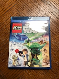 Lego Star-Wars The Padawan Menace DVD + BLUERAY
