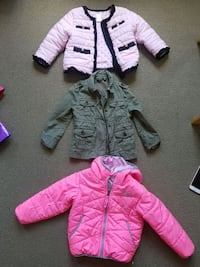 Girls size 2 years and 3 years jackets Edmonton, T6W 0C8