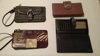 Lot of Coach Wallets Statesville, 28625