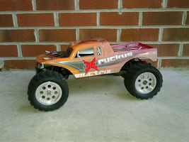 ECX RUCKUS RC car