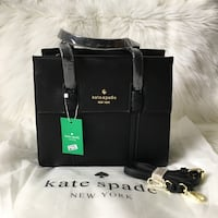 Black leather kate spade Toronto, M6L 2N2
