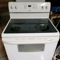 white and black induction range oven Spanaway, 98387