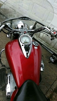 red and black standard motorcycle Jacksonville, 72076