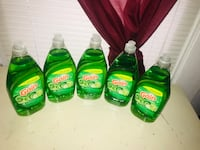 four Gain detergent bottles and two Gain bottles Portsmouth, 23704