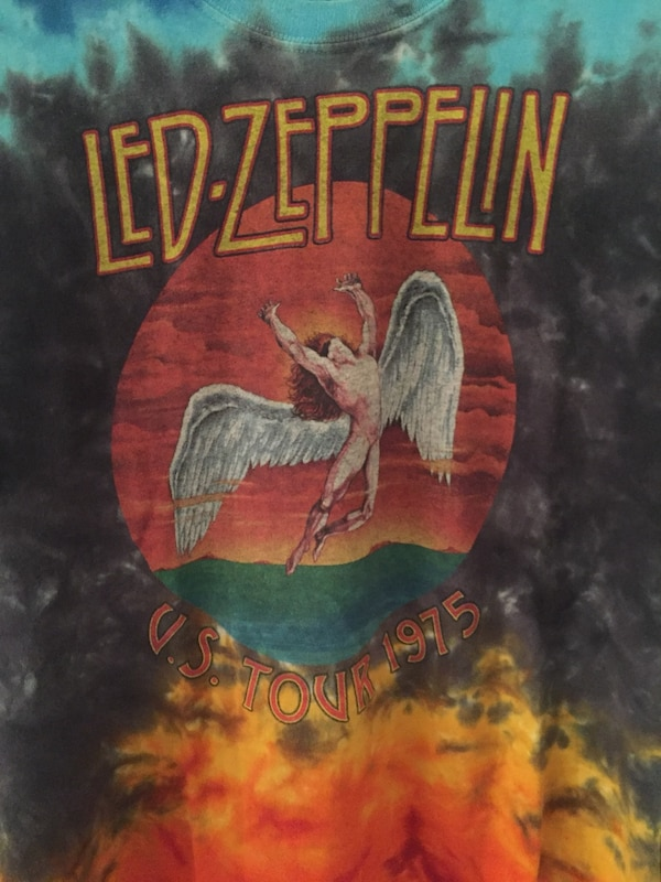 Vintage Led Zeppelin Tie Dye Tour Shirt - Medium - Pre-Owned 0d8f359a-a98f-4969-89fa-e2ff089842c6