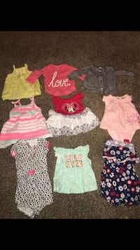 Newborn girl clothes *102 items* Vancouver, 98682