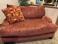 Love seat with matching large ottoman Cold Spring, 56320