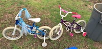 Toddler's blue and white bicycle (both together ) Spartanburg, 29307