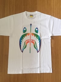 Bape Colour Shark Tee  Nanaimo, V9T 3H2