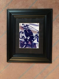 FRAMED MAPLE LEAFS – MATS SUNDIN PICTURE!!!!!