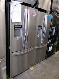 """30"""" stainless steel french doors refrigerator"""