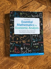 Essential Mathematics For Economic Analysis 5th Edition  Vaughan, L4L 2N2