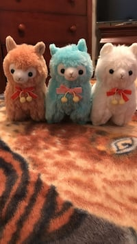 three animal plush toys Alpacasso  Annandale, 22003
