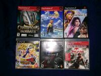 Ps2 & ps3 games Vancouver, V5N 4G8