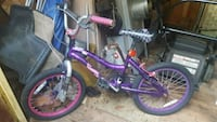 toddler's purple and white bicycle Herndon, 20192