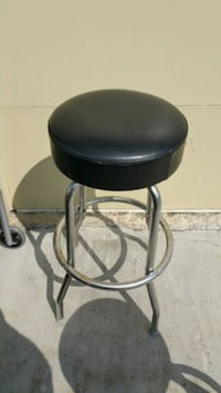 black and gray leather padded bar seat Chicago Ridge