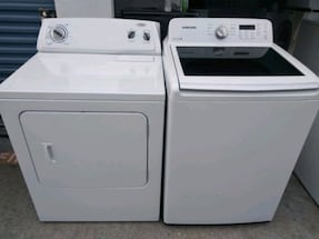 Samsung whaser and Whirlpool drayer