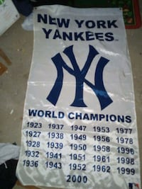 New york yankees banner Manchester, 03103