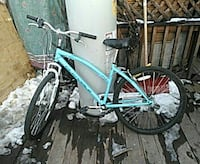 blue hardtail bicycle Grand Junction, 81504