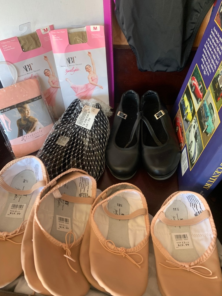 Photo New and used ballet and dance kids $5 and up also a ballet bag