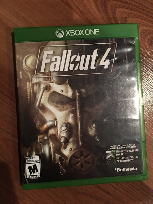 Fallout 4 for x box 1  And digital download of fallout 3