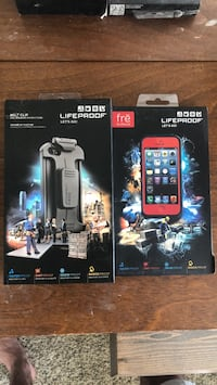 Lifeproof Frē waterproof iPhone 5 case and belt clip