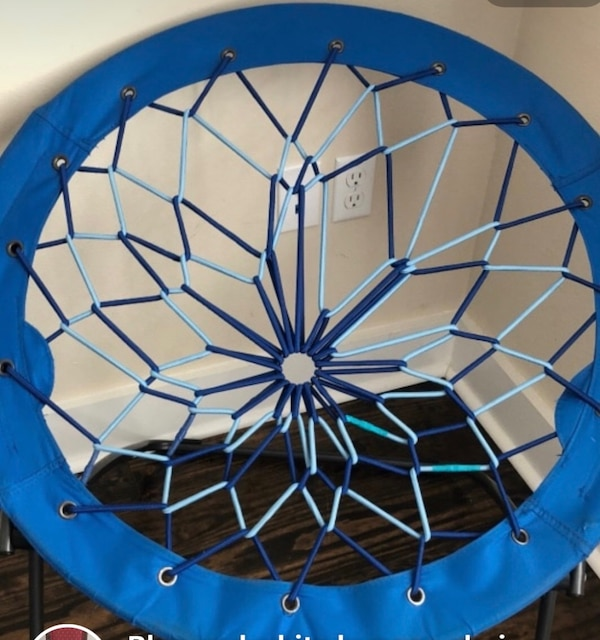 Fantastic Used Blue And Black Bungee Chair For Sale In Panama City Gmtry Best Dining Table And Chair Ideas Images Gmtryco
