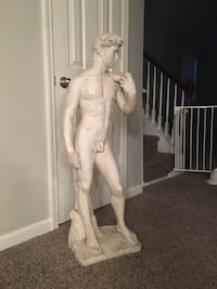 "David Statue, Good Condition, 45"" tall and approx 65 lbs Garner, 27529"