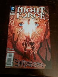 Night Force Comic Book Issue # 2 Portland, 97201