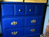 Hand painted and crafted 3 drawer dresser  Graham, 27253