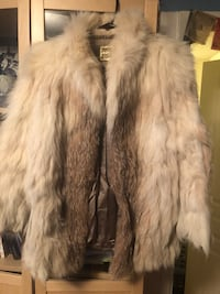 White and black fur coat Chevy Chase, 20814