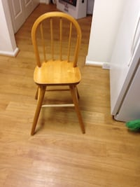 brown wooden windsor chair Jb Andrews, 20762