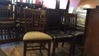 Cafe style chairs (20 chairs) Langley, V3A