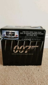 James bond 21 film set (42 disks) Fairfax, 22031
