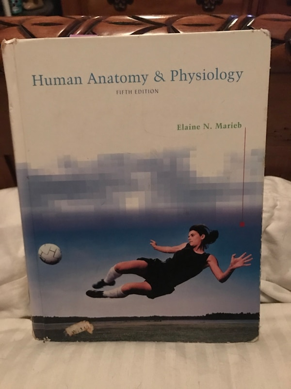 Used Human anatomy and physiology book for sale in Ormond Beach - letgo
