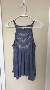 Embroidered Tank - Size Small Norfolk, 23505