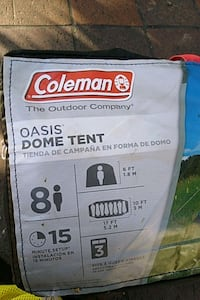 Coleman Tent  Oasis  Dome Tent